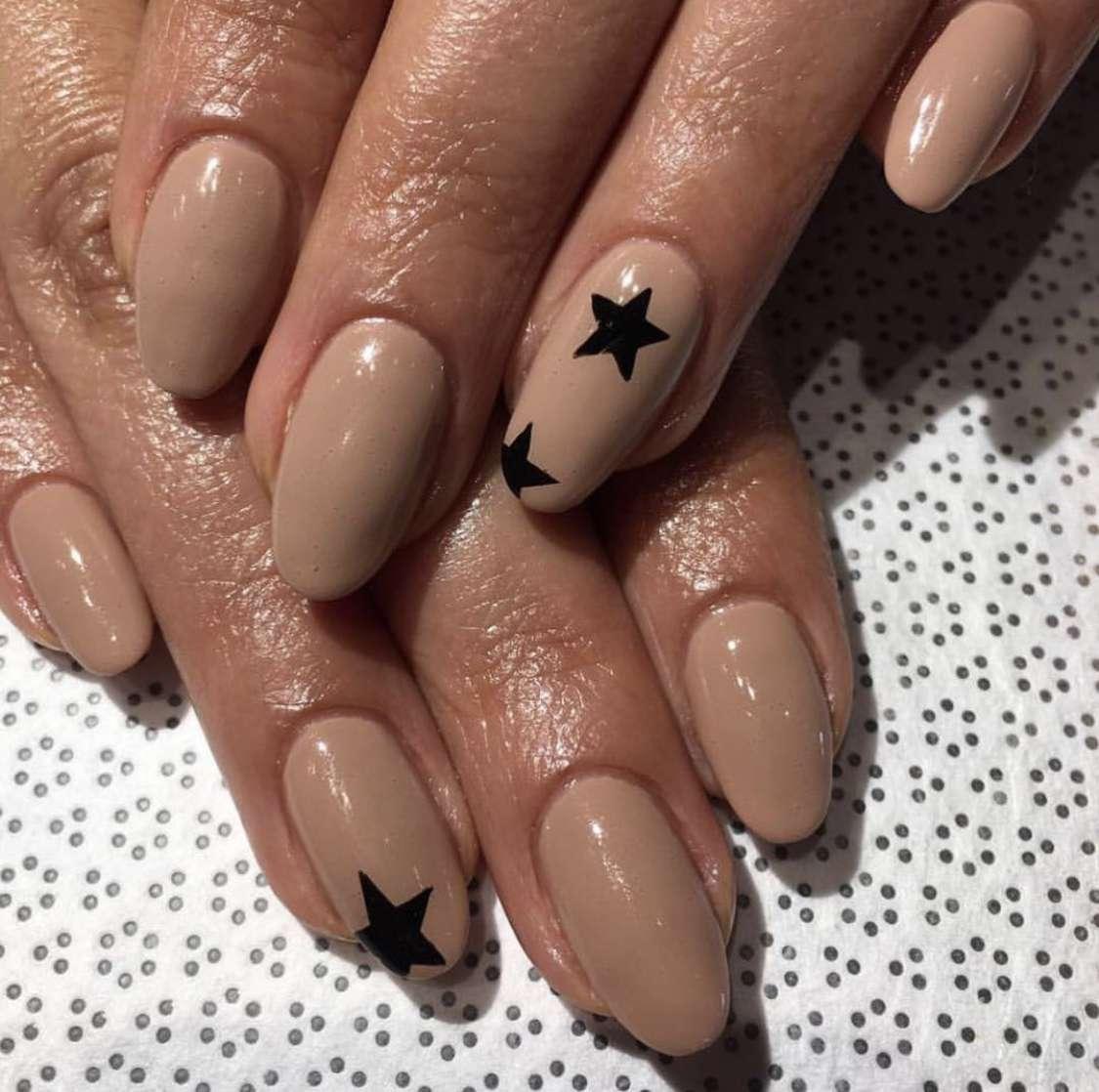 Simple Nail Designs Stars