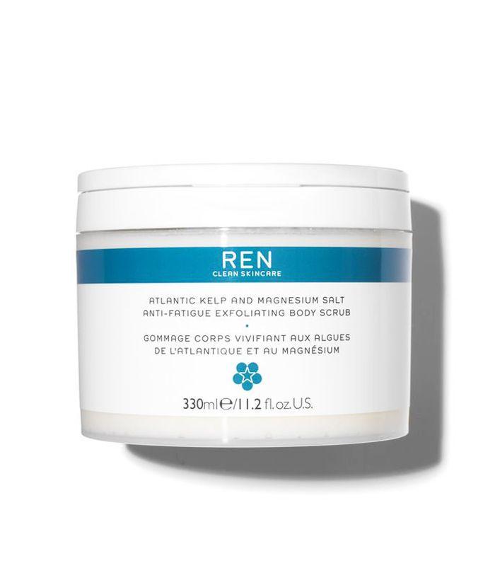 Best Body Scrub: REN Atlantic Kelp & Magnesium Salt Anti-Fatigue Exfoliating Body Scrub
