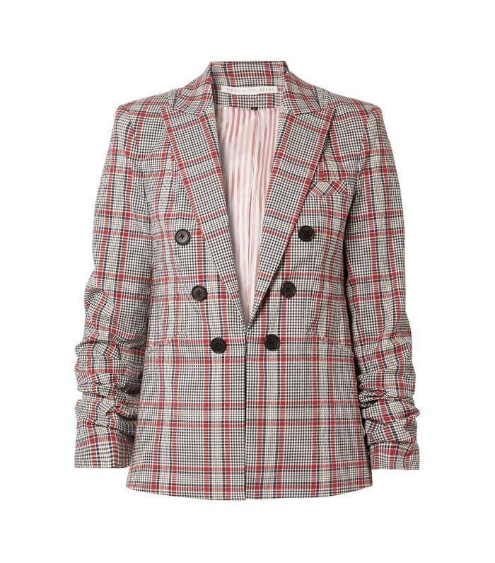 Caldwell Dickey Checked Cotton-blend Blazer
