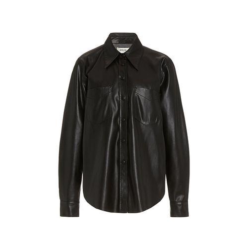 Paloma Vegan Leather Shirt ($275)