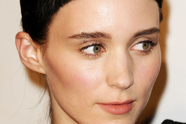 actress Rooney Mara on the red carpet