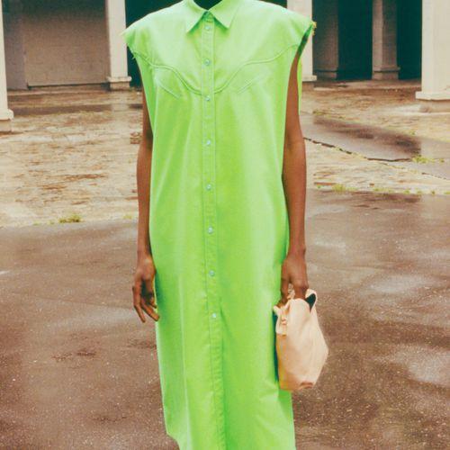 MM6 Maison Margiela Flannel Dress