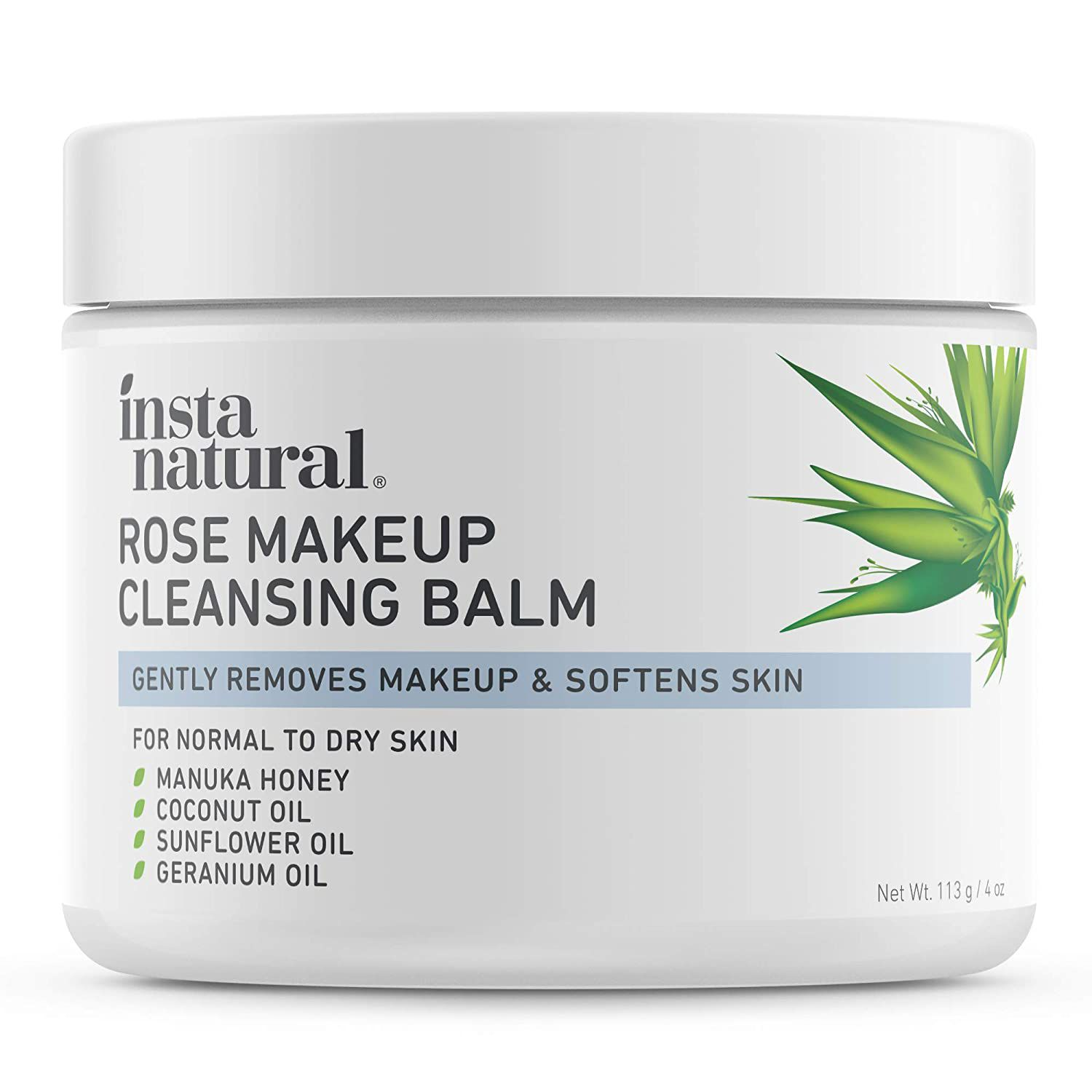 InstaNatural Rose Cleansing Balm