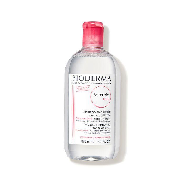 products models actually use: Bioderma Sensibio H2O