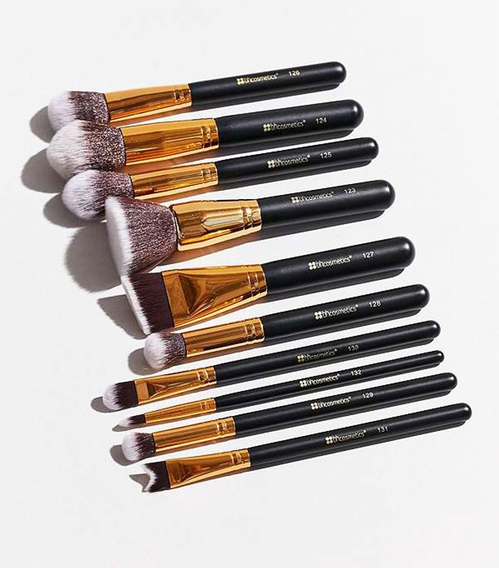 Christmas gifts for teens: bh Cosmetics Sculpt and Blend 10 Piece Brush Set