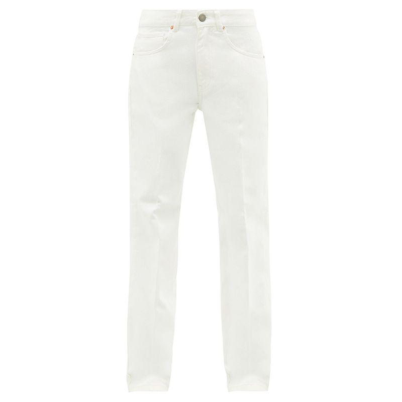 Push Straight-Leg Jeans