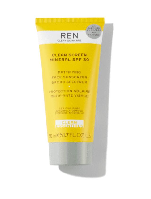 Ren Clean Screen Mineral SPF 30 Mattifying Face Screen