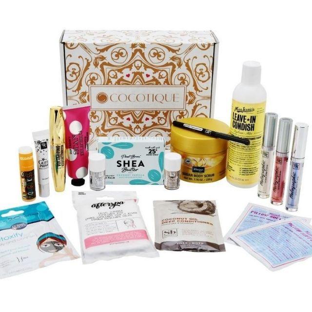 Cocotique Makeup Box