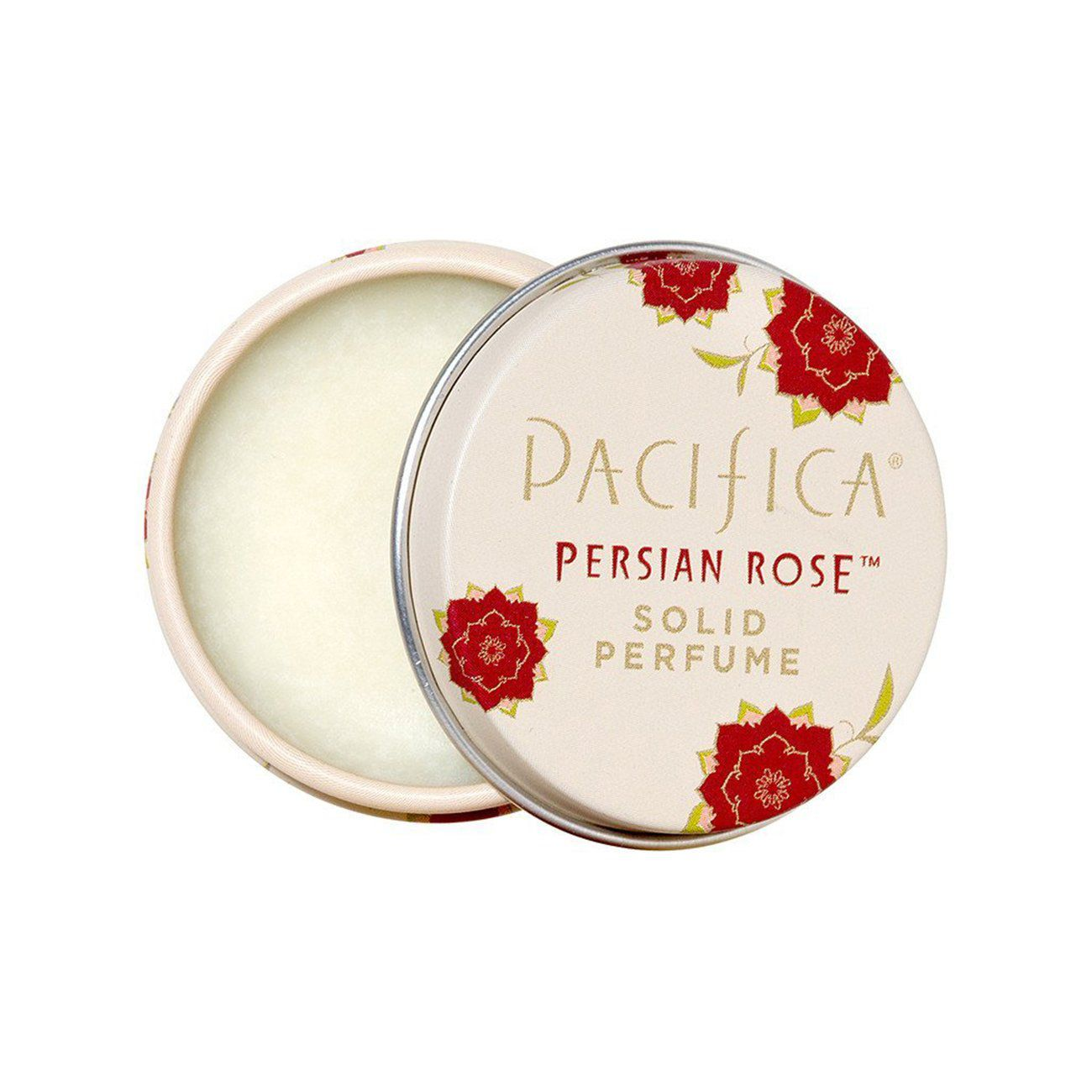 pacifica solid perfume in persian rose