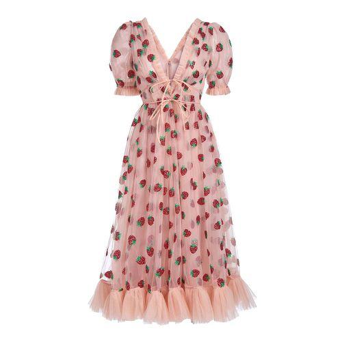 Strawberry Midi Dress ($490)