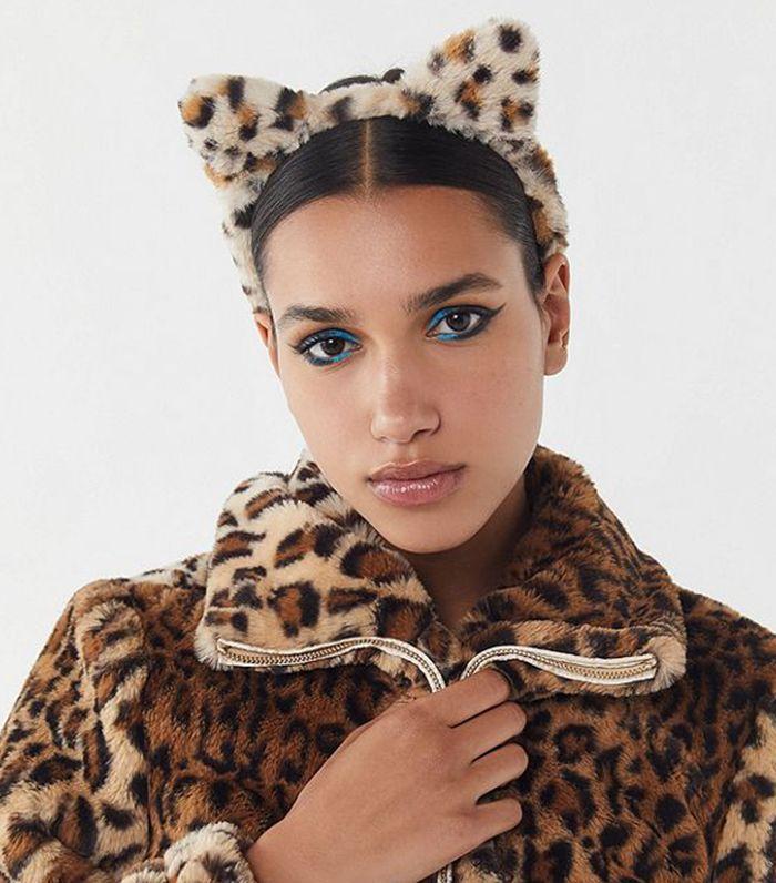 Fuzzy Cat Ears Headband