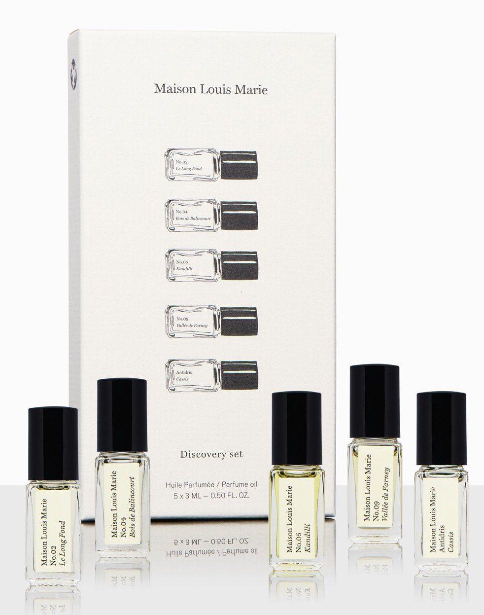 Maison Louis Marie Perfume Oil Discovery Set