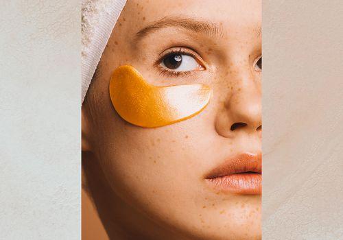 Gold in Skincare Eye Mask