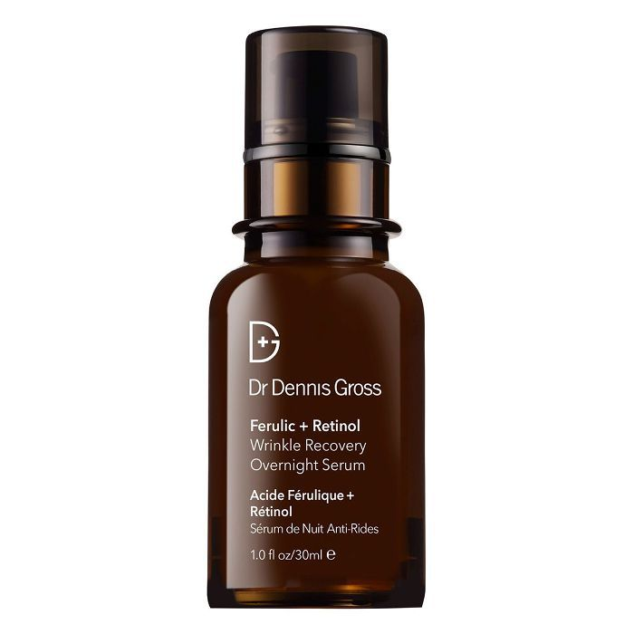 best serums for every skin type: Dr Dennis Gross Ferulic and Retinol Wrinkle Recovery Overnight Serum