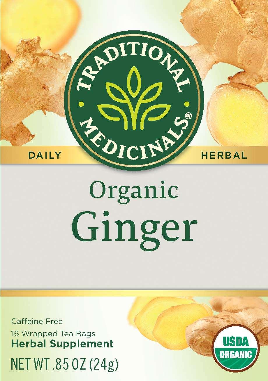 Traditional Medicinals Ginger tea