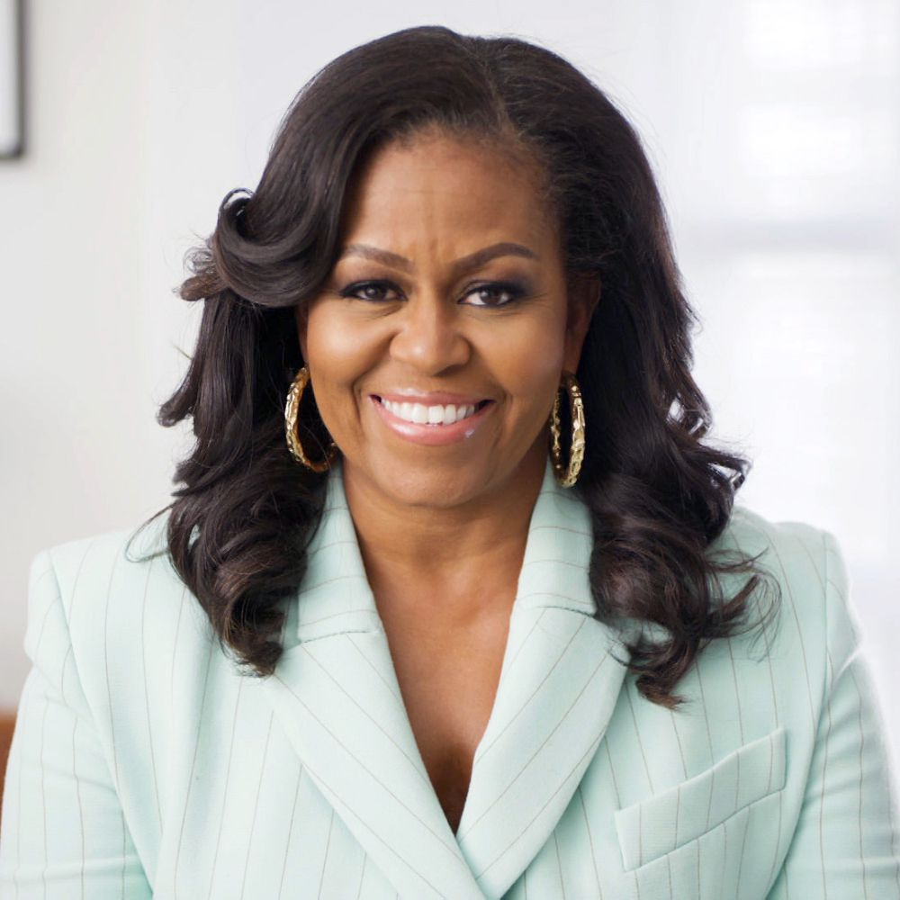 Michelle Obama at the 52nd Annual NAACP Image Awards