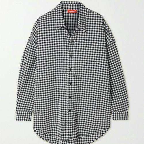 Denimist Gingham Cotton-Flannel Shirt