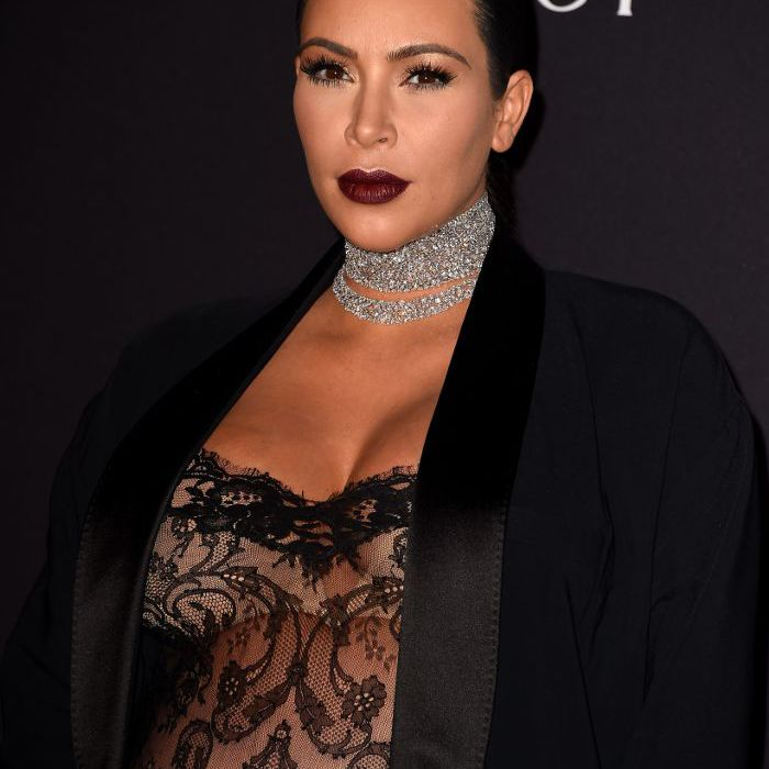 Kim Kardashian Makeup Looks, 2015