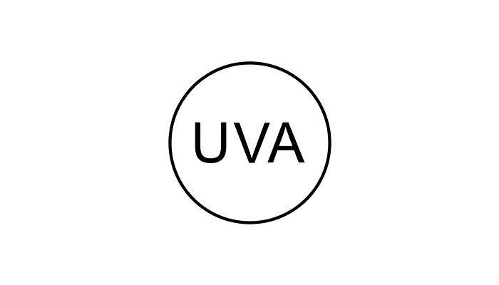 uva symbol on beauty products