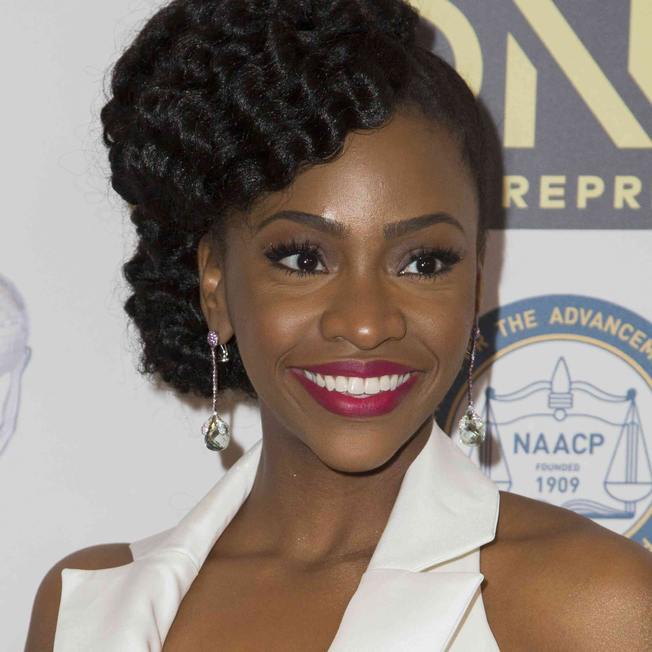 Teyonah Parris 47th NAACP Image Awards Nominees' Luncheon - Arrivals