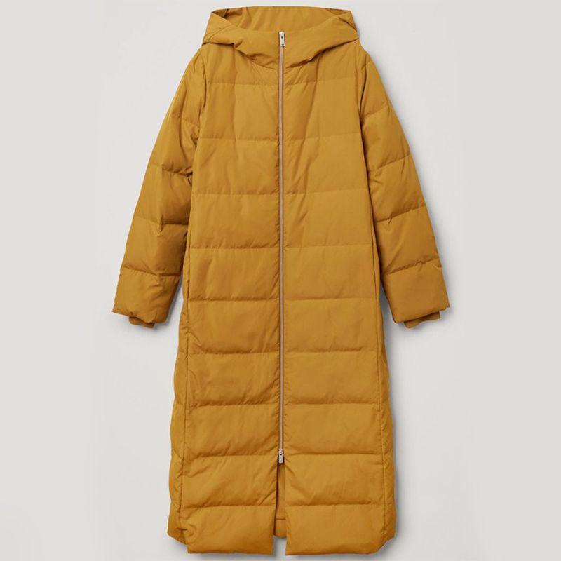 Longline Hooded Puffer Coat