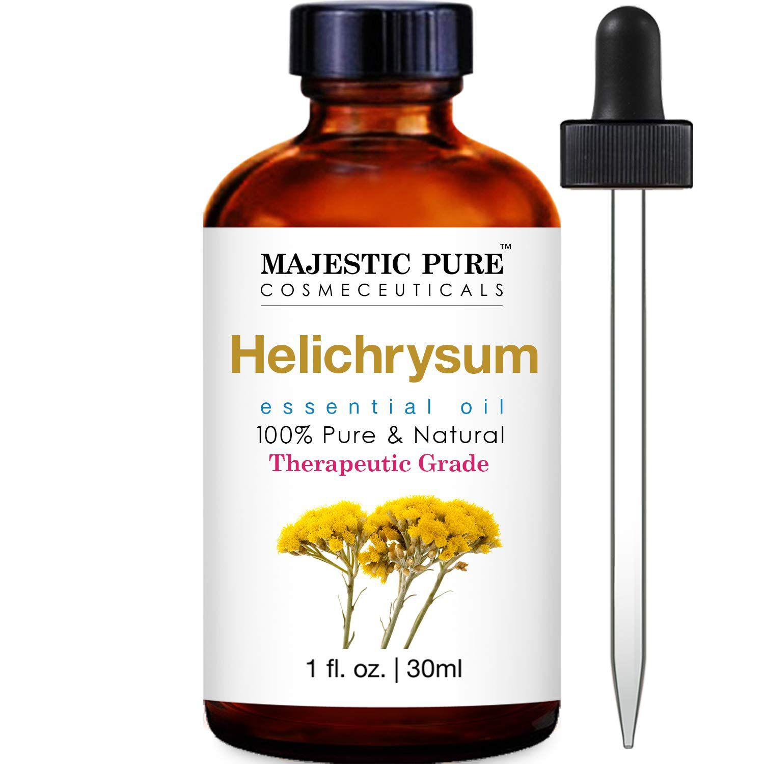 Majestic Pure Cosmeceuticals Helichrysum Oil