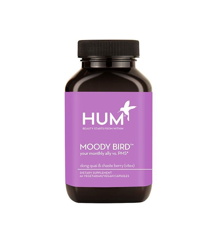 Hum Nutrition's Moody Bird PMS supplement aims to combat hormones from within.