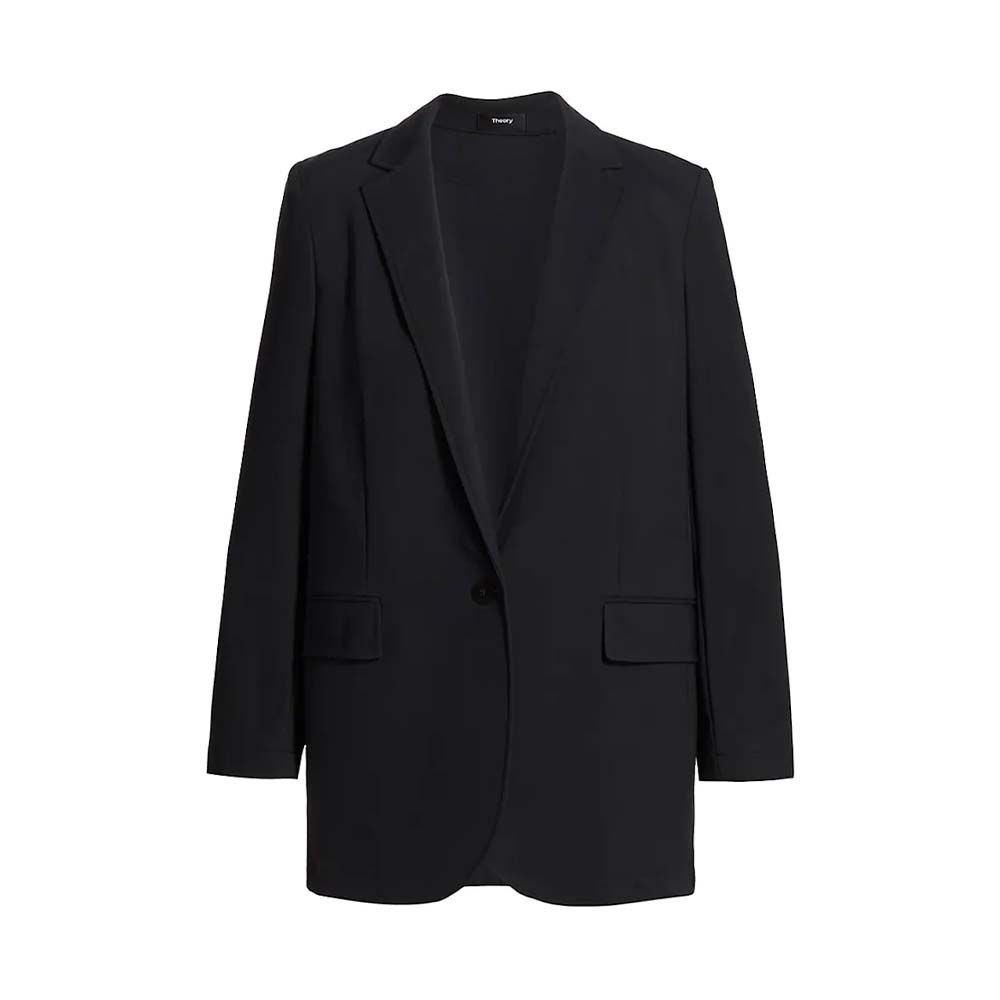 Casual Single-Breasted Blazer
