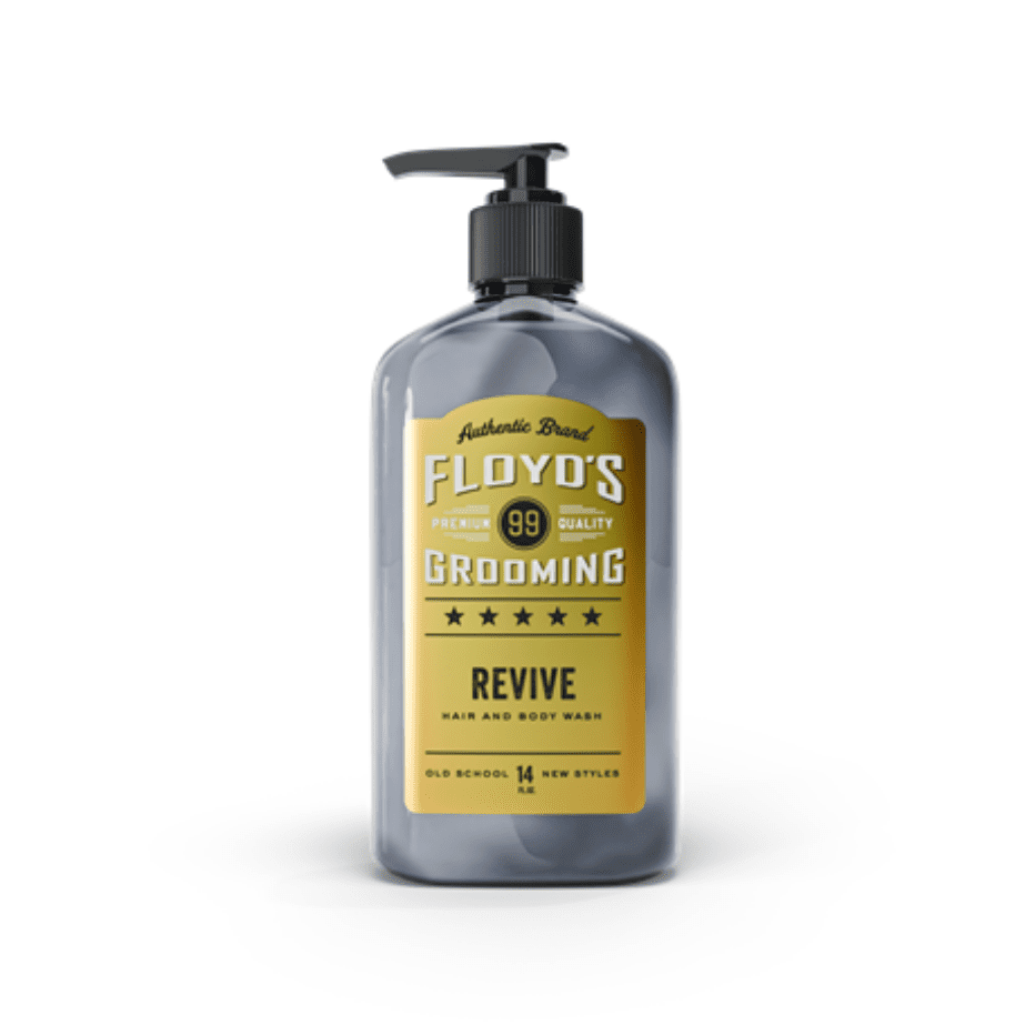 Floyd's Revive hair and body wash
