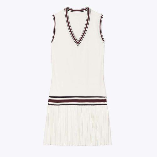 Performance V-Neck Dress ($228)