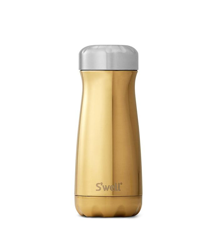 S'Well Traveler Yellow Gold Insulated Stainless Steel Water Bottle