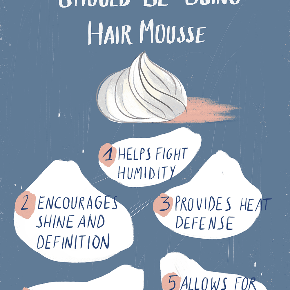 Why Use Mousse In Hair Top Hairstylists Explain