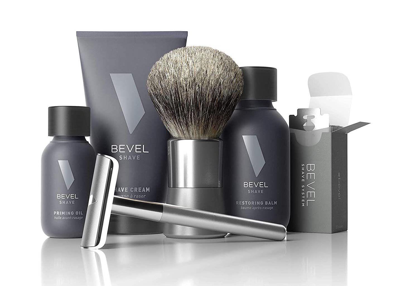 Bevel Starter Shave Kit with Safety Razor