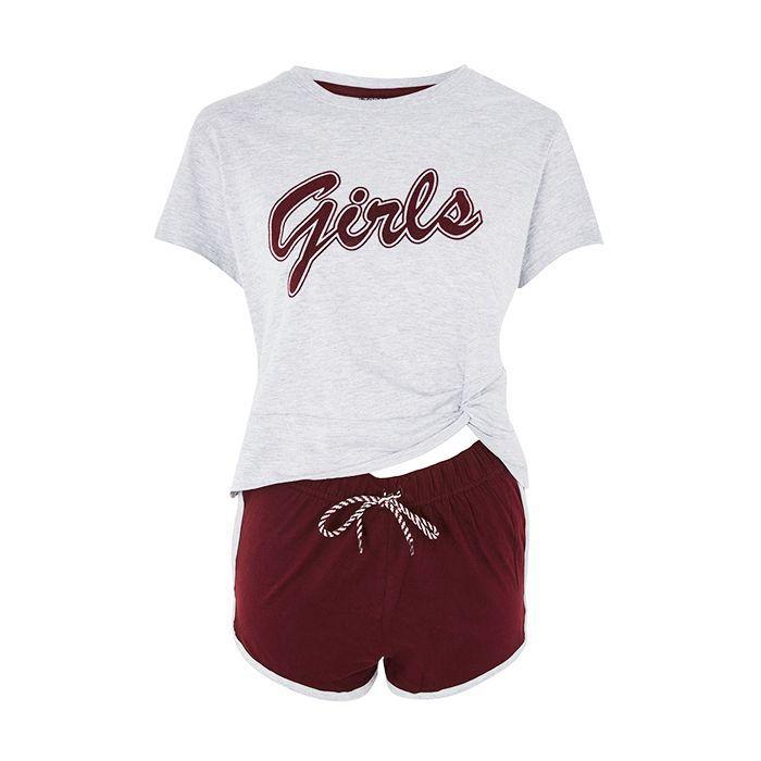 Period pain: Topshop Girls Slogan Pyjama Set