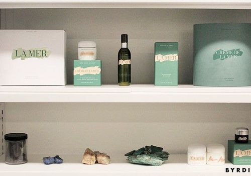 La Mer Products on shelf