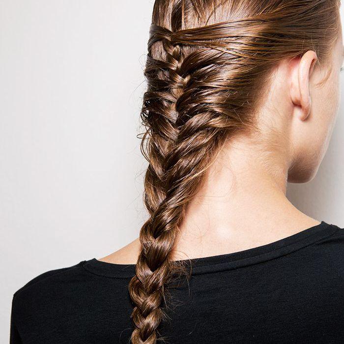 Braids: Half fishtail