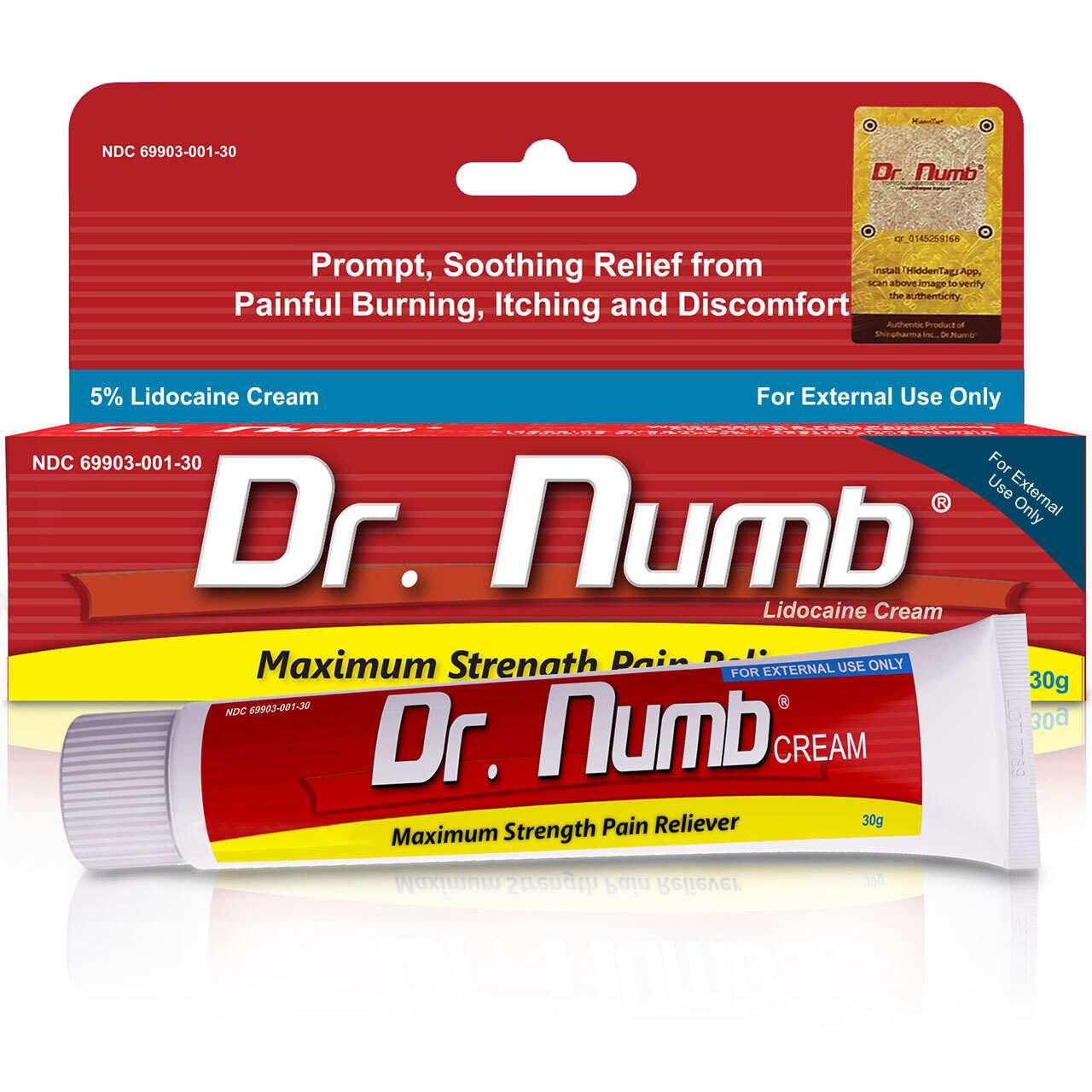 Dr. Numb 5% Cream