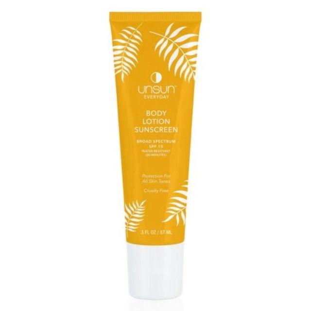 Unsun Cosmetics Body Lotion Sunscreen SPF 15