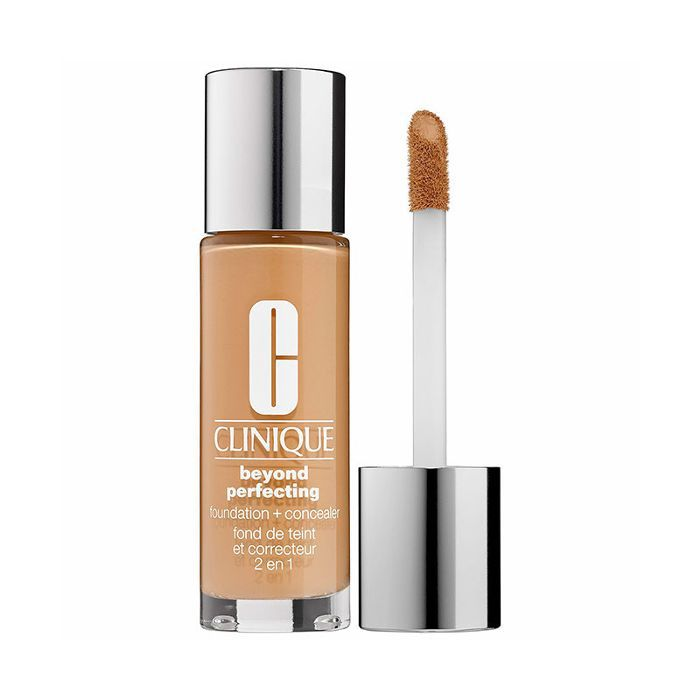 Clinique Beyond Perfecting Foundation + Concealer - makeup artist tips
