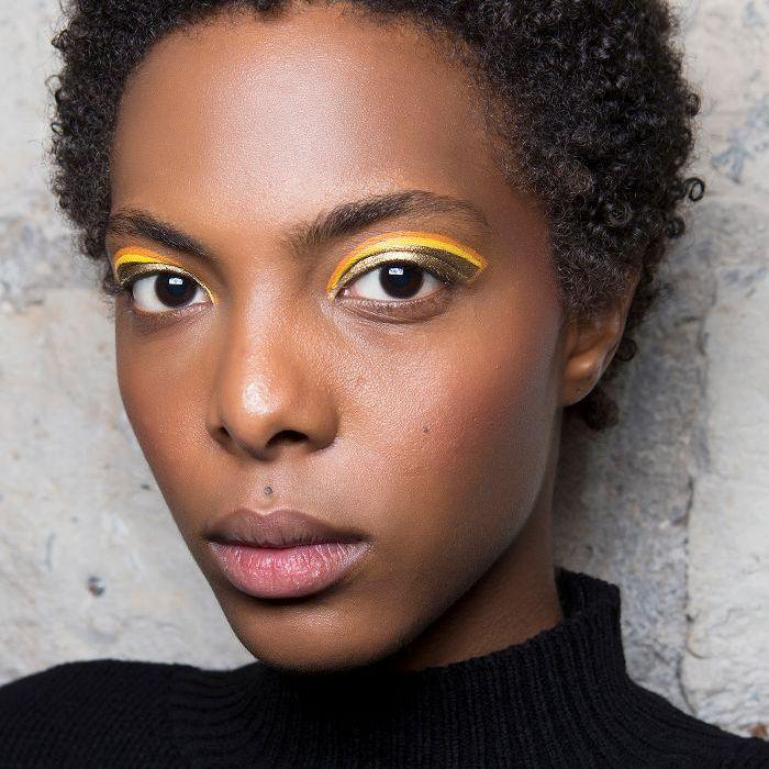 Gold Eyeliner - Yellow Eyeliner
