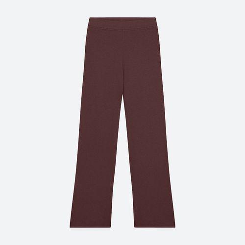 Naadam Ribbed Lightweight Wide Leg Pants