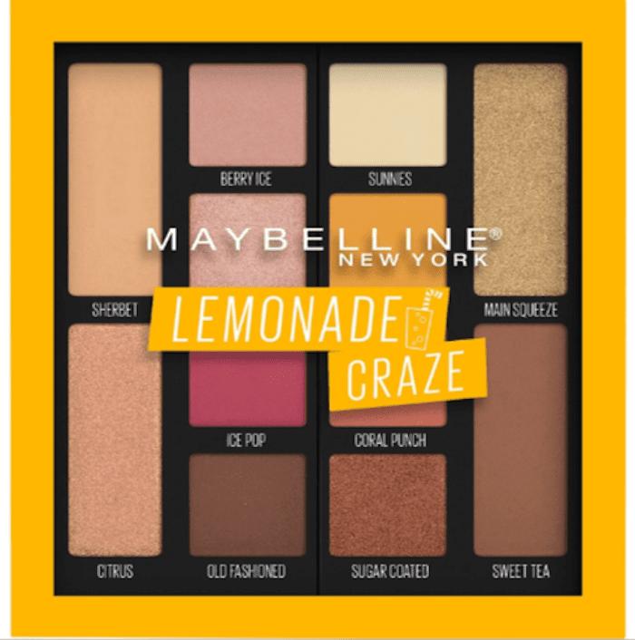 Maybelline Lemonade Craze Palette