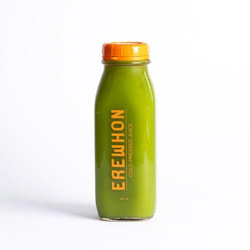 Erewhon Heavenly Greens Organic Juice