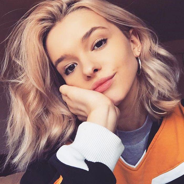 Model skincare secrets: Amy Ward skincare selfie