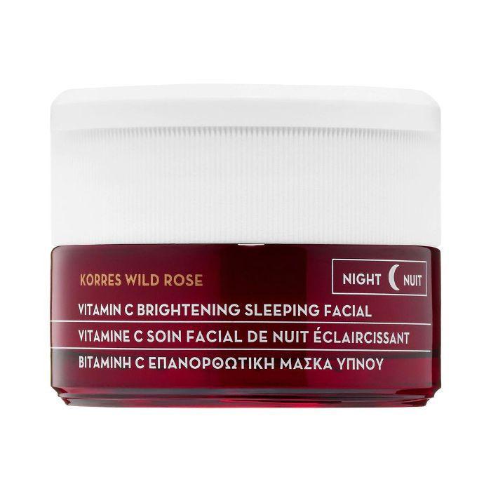 Wild Rose + Vitamin C Advanced Brightening Sleeping Facial 1.35 oz/ 40 mL