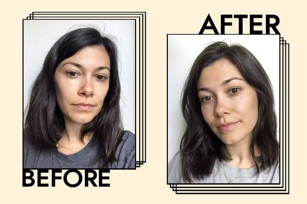 Redken All Soft Conditioner Results on Ashley Rubell