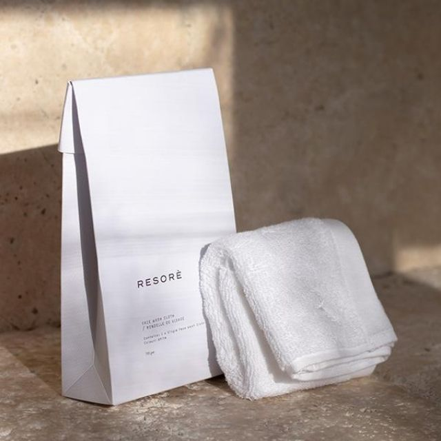 Resorè Antibacterial Face Towel