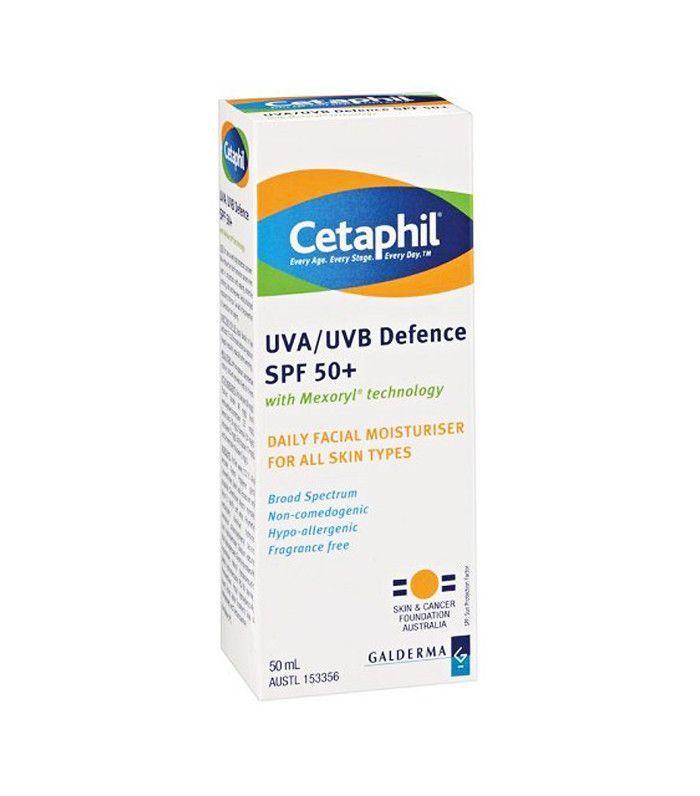 Best affordable skincare products: UVA/UVB Moisturiser Defence SPF 50+