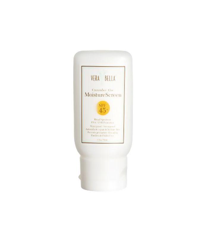 vera bella moisture screen - summer skincare