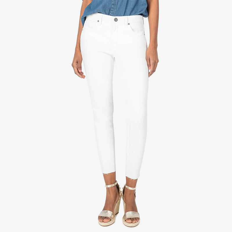 Donna High Rise Fab AB Ankle Skinny Jean